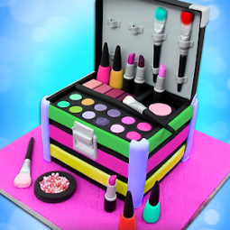 Make Up Cosmetic Box Cake Maker Best Cooking Game