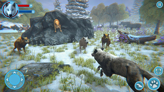 Arctic Wolf Family Simulator: Wildlife Games App Ranking and Store