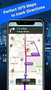 Offline Maps, GPS, Driving Directions App Ranking and Store