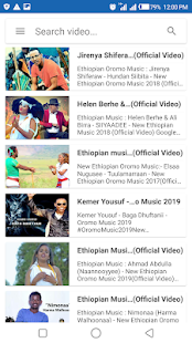 Oromo Music Video - Drama & Movie App Ranking and Store Data