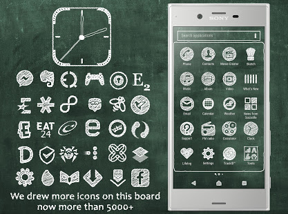 Green Board | Xperia™ Theme + icons App Ranking and Store Data | App