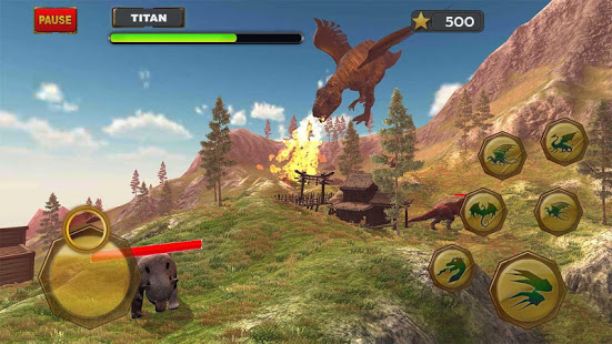 Flying Dinosour Simulator Game 3d App Ranking and Store Data