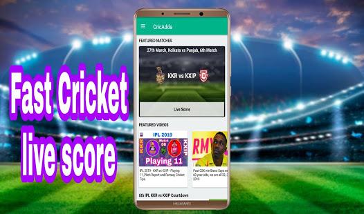 CricAdda IPL live score App Ranking and Store Data | App Annie