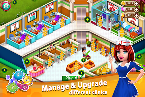 Doctor Mania : Hospital Game App Ranking and Store Data