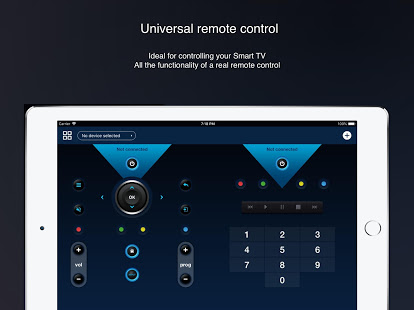 Universal remote control for smart TVs App Ranking and Store Data