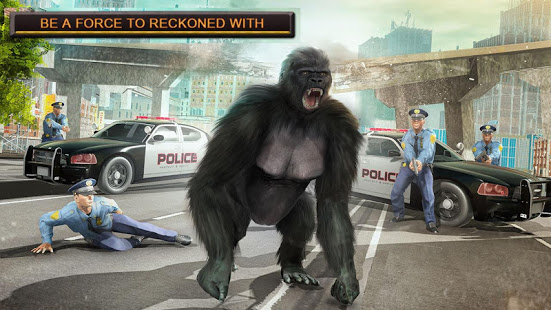 Monster Gorilla Rampage Apes Family Simulator App Ranking and Store