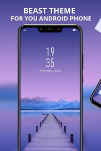 Purple nature theme for galaxy m20 best launcher App Ranking
