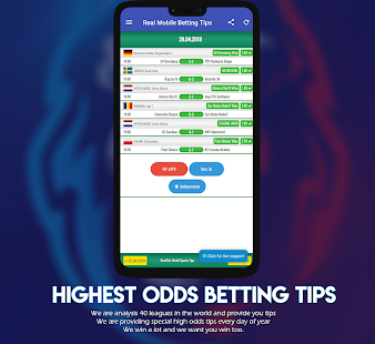 Real Bet VIP World Sports Betting Tips App Ranking and Store