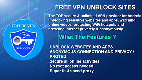 X VPN : Unblock Sites VPN Proxy Browser App Ranking and Store Data