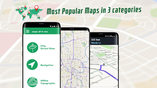 Maps All in One - Travel, Navigation and Radar App Ranking
