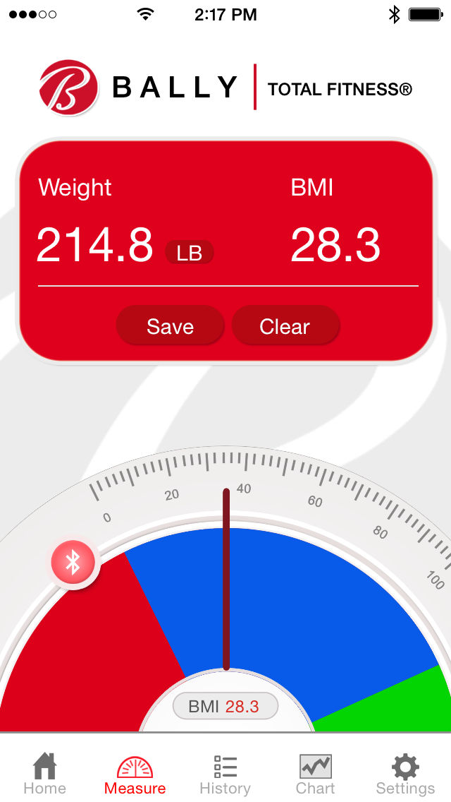 Bally Total Fitness Bls 7361 Bluetooth Bathroom Scale App Ranking