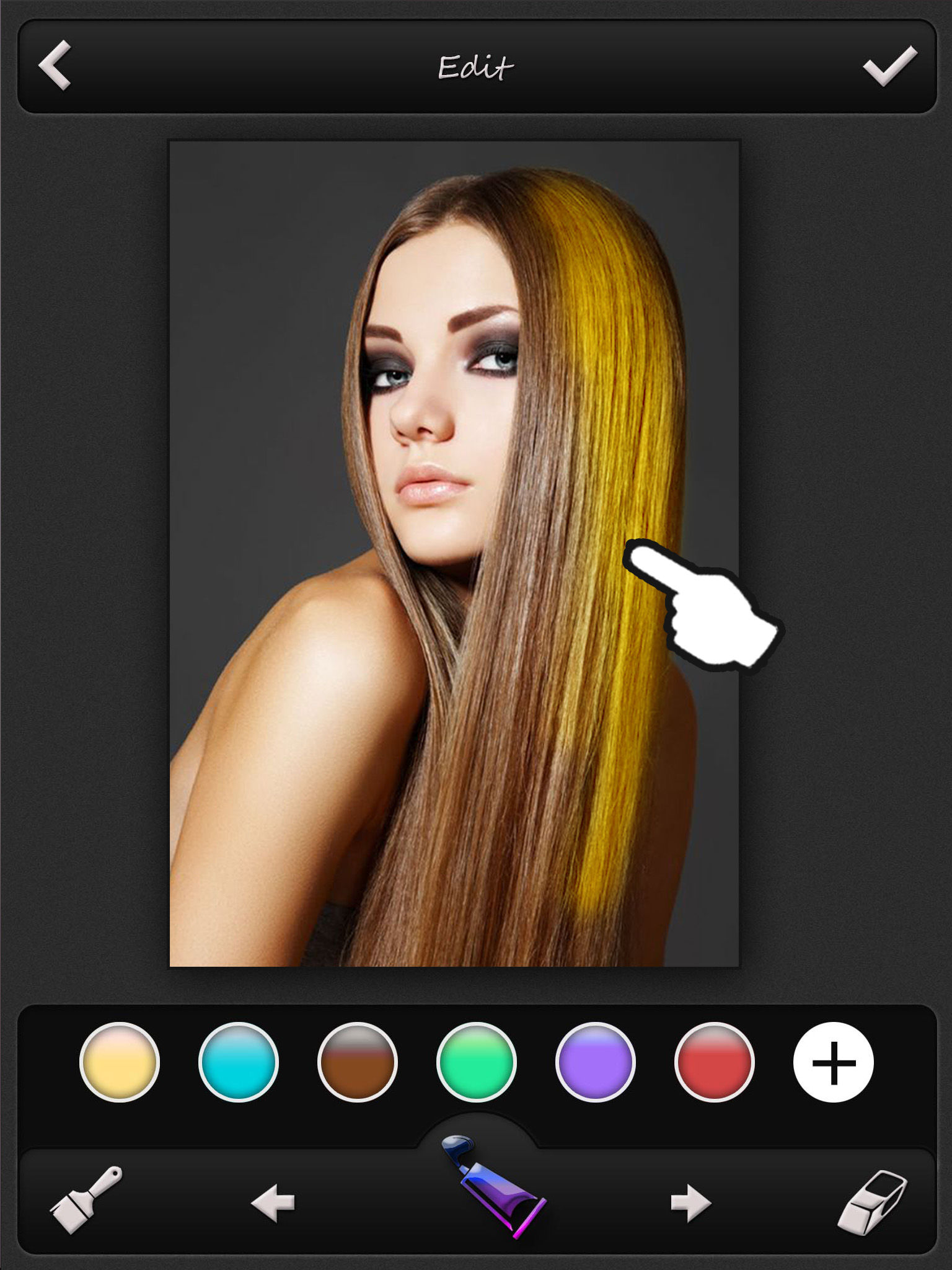 Hair Color Changer Pro - Recolor Booth to Dye, Change & Beautify ...