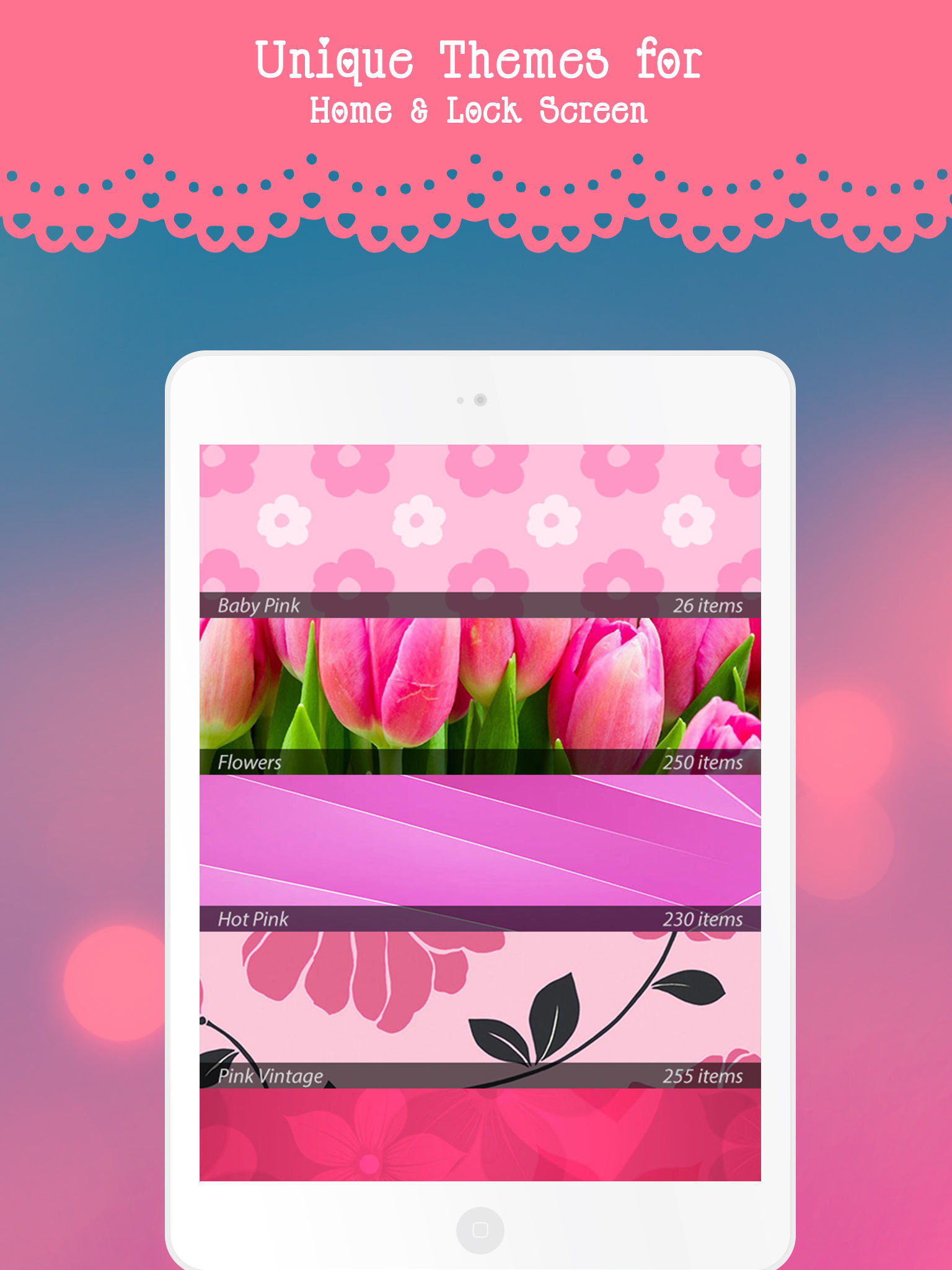 Stylish Pink Live Wallpapers & Backgrounds – HD quality Girly Theme