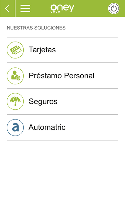 Oney espa a app ranking and store data app annie for Tarjeta alcampo oney