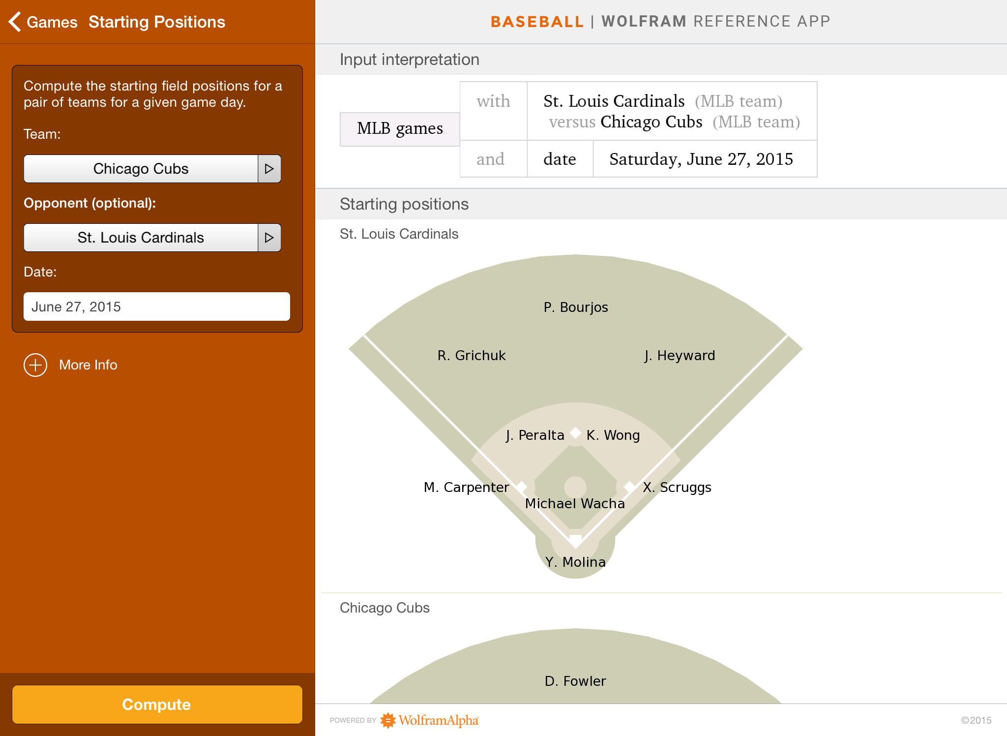 Wolfram Pro Baseball Stats Reference App App Ranking And Store Data