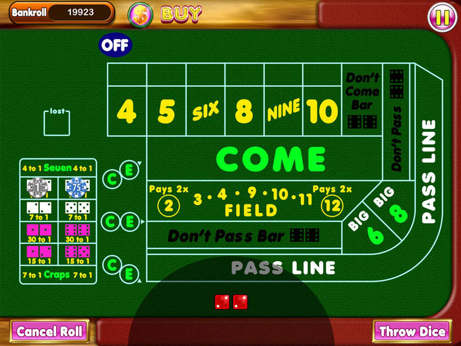 Betting casino craps best online free casino slots