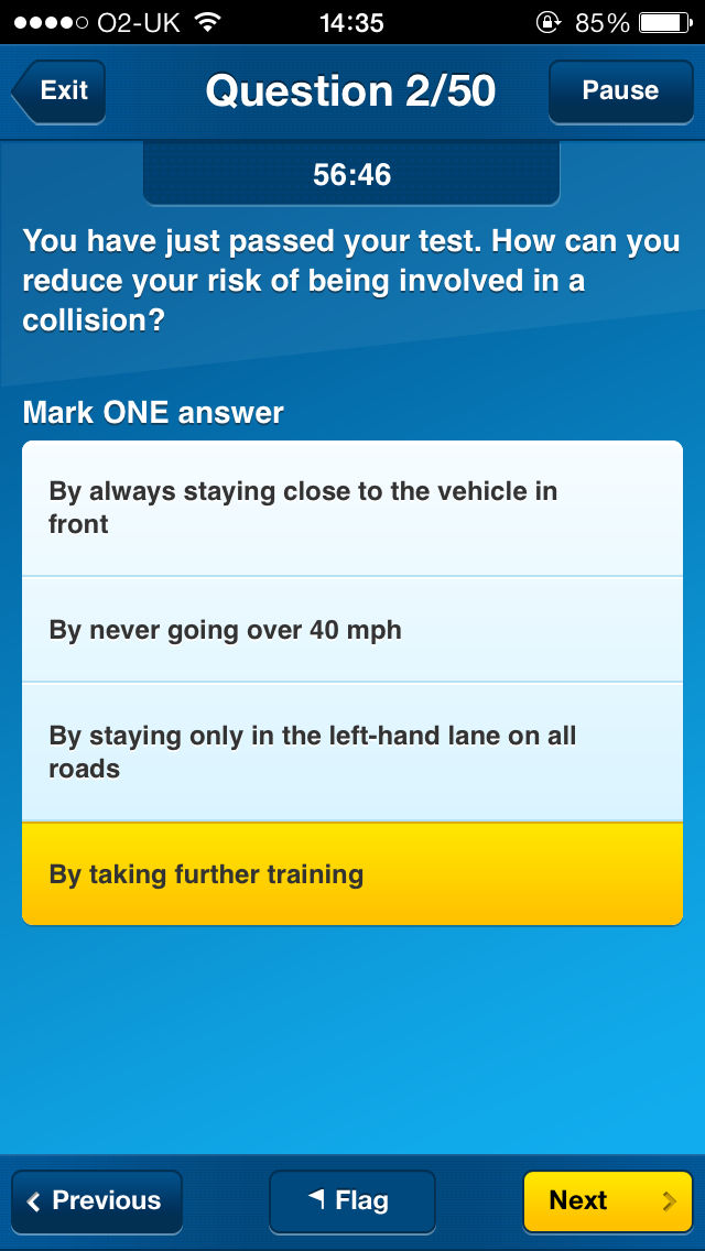 Hazard Perception Test Practise >> The Official DVSA Theory Test Kit, Hazard Perception and Highway Code app bundle App Ranking and ...