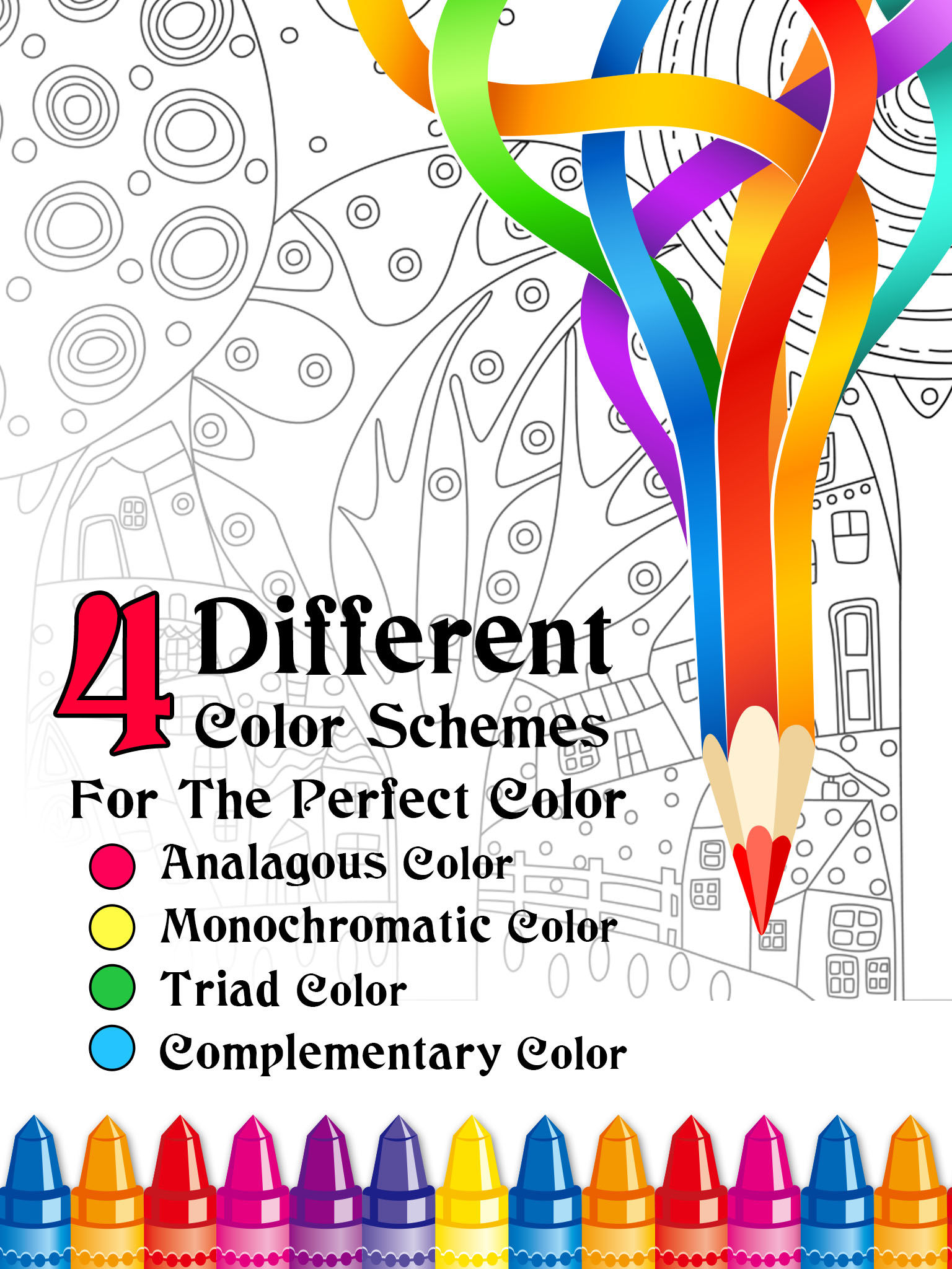 Color Remix Adult Coloring Book