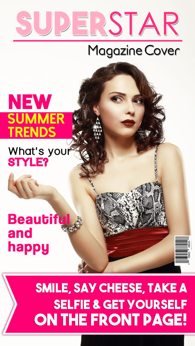 magazine cover superstar make fake magazines from your pics and be