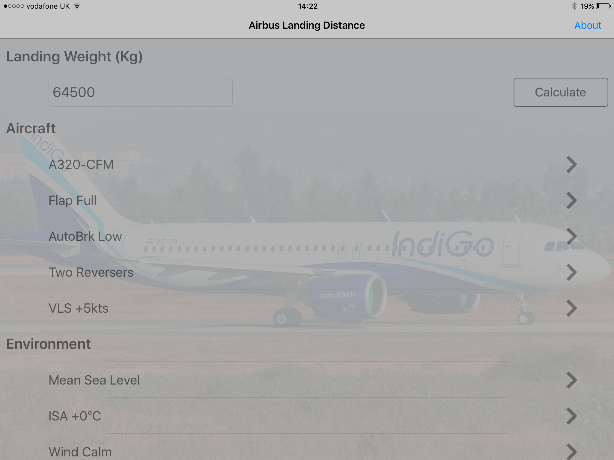 A319/320/321 Landing Dist Calc App Ranking and Store Data | App Annie