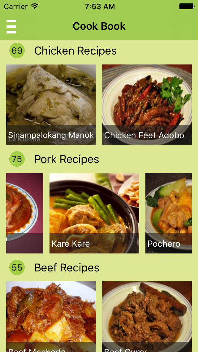 Filipino food recipes offline free app ranking and store data app app description free pinoy food recipes forumfinder Choice Image