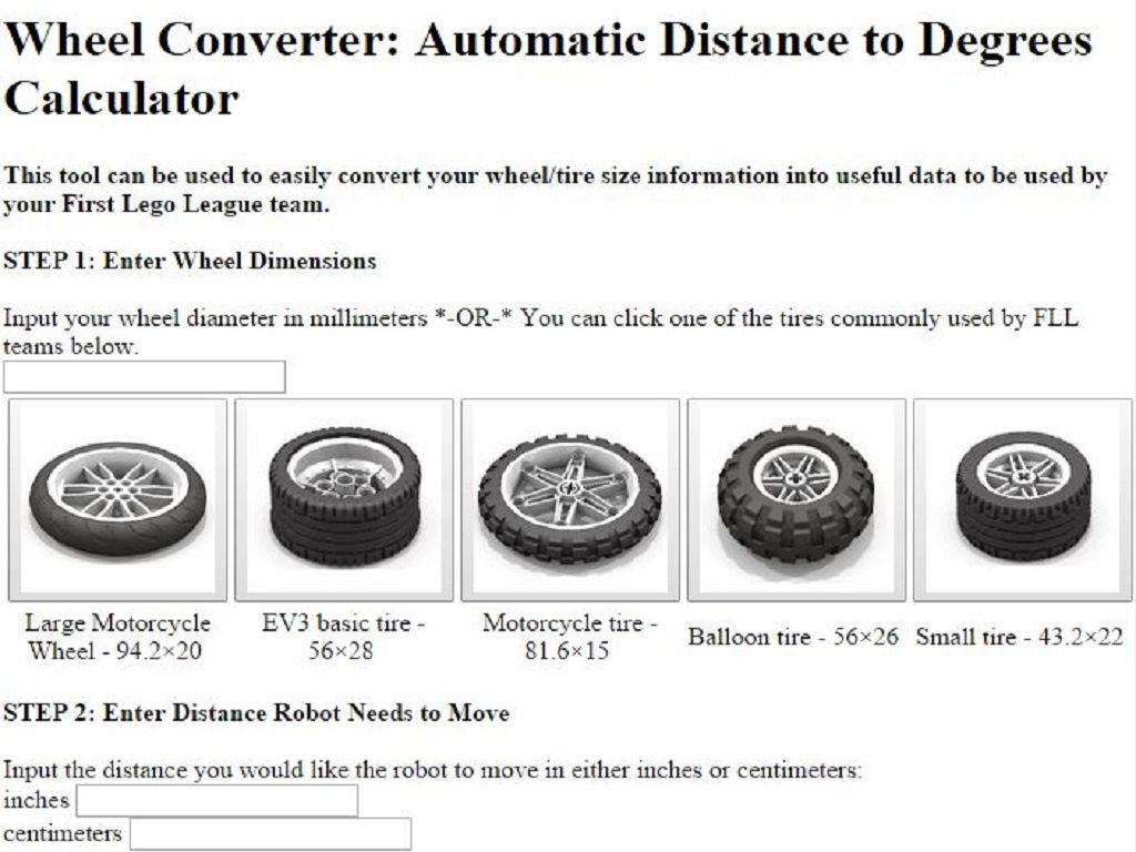 Wheel converter for ev3 app ranking and store data app annie app description geenschuldenfo Image collections