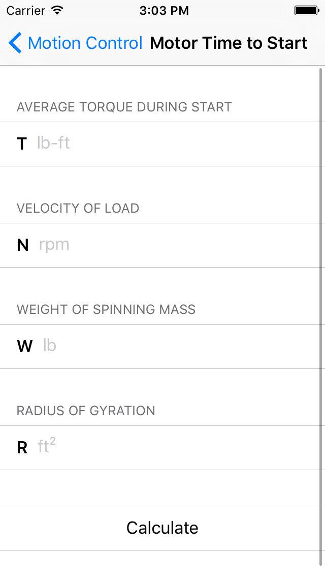 Motor Calculators - Mechanics & Engineers App Ranking and Store Data