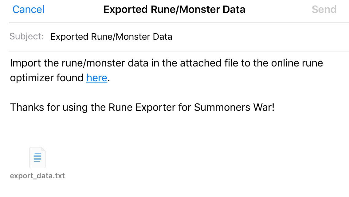 Rune Exporter for Summoners War App Ranking and Store Data   App Annie
