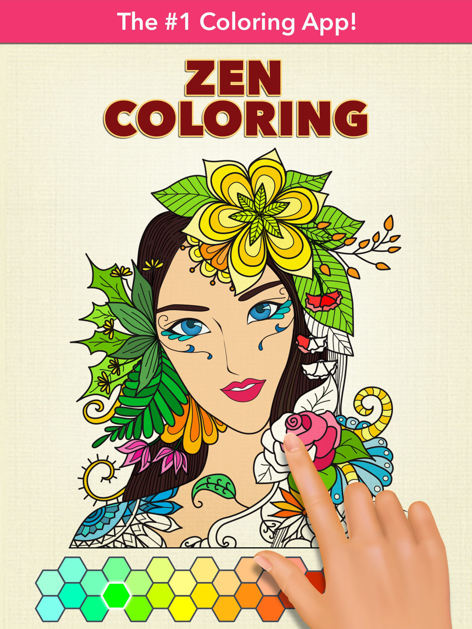 Zen coloring books for adults app - Discover Today The Anti Stress Power Of Color Therapy On Your Iphone Or Ipad App Description
