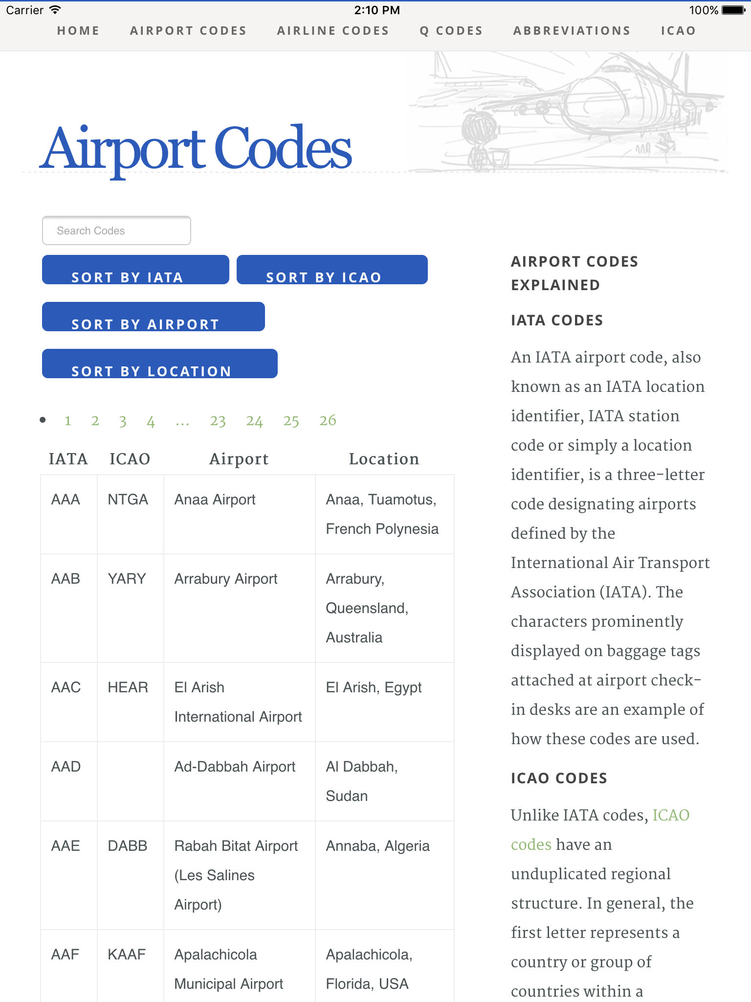 Airport Airline Codes Database App Ranking and Store Data   App Annie