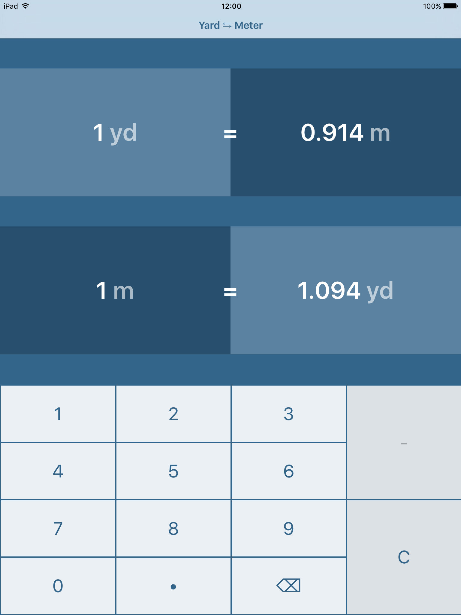Yards to Meters | Yard to Meter | yd to m App Ranking and Store Data ...