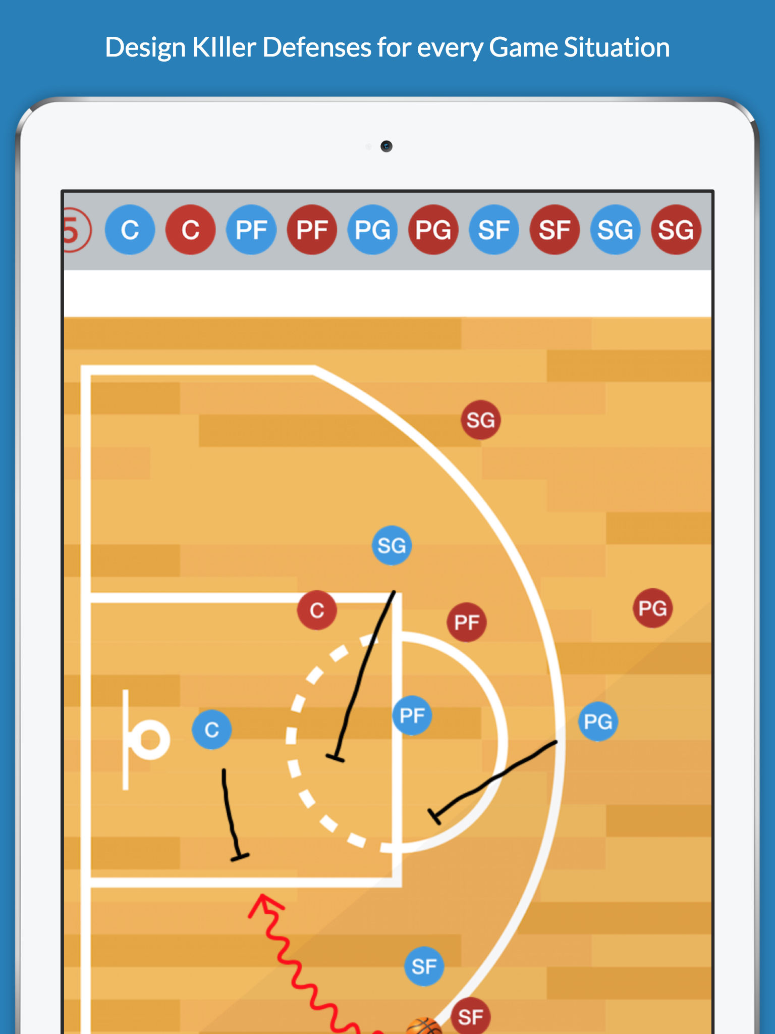 Basketball clipboard blueprint app ranking and store data app annie app description attention basketball coaches malvernweather Choice Image