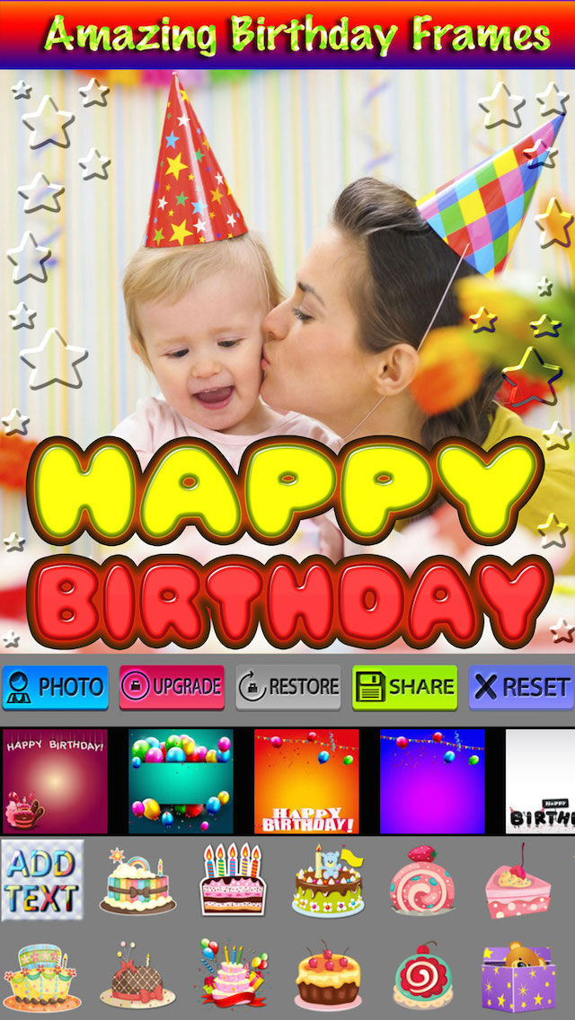 Happy Birthday Picture Frames HD App Ranking and Store Data | App Annie