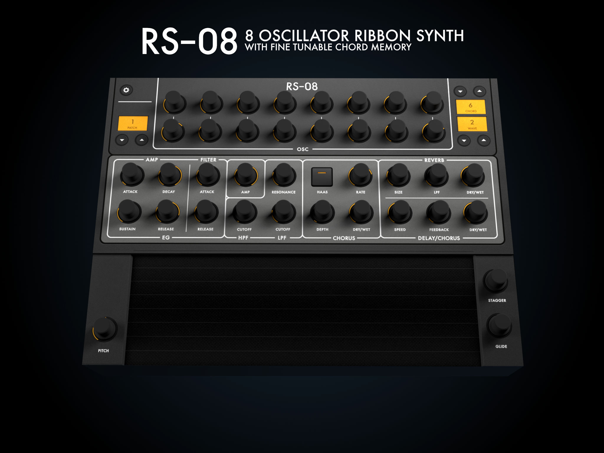 RS-08 | 8 Oscillator Ribbon Synth App Ranking and Store Data