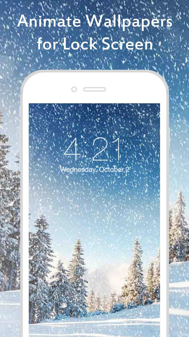 Iphone 6s how does live wallpaper work