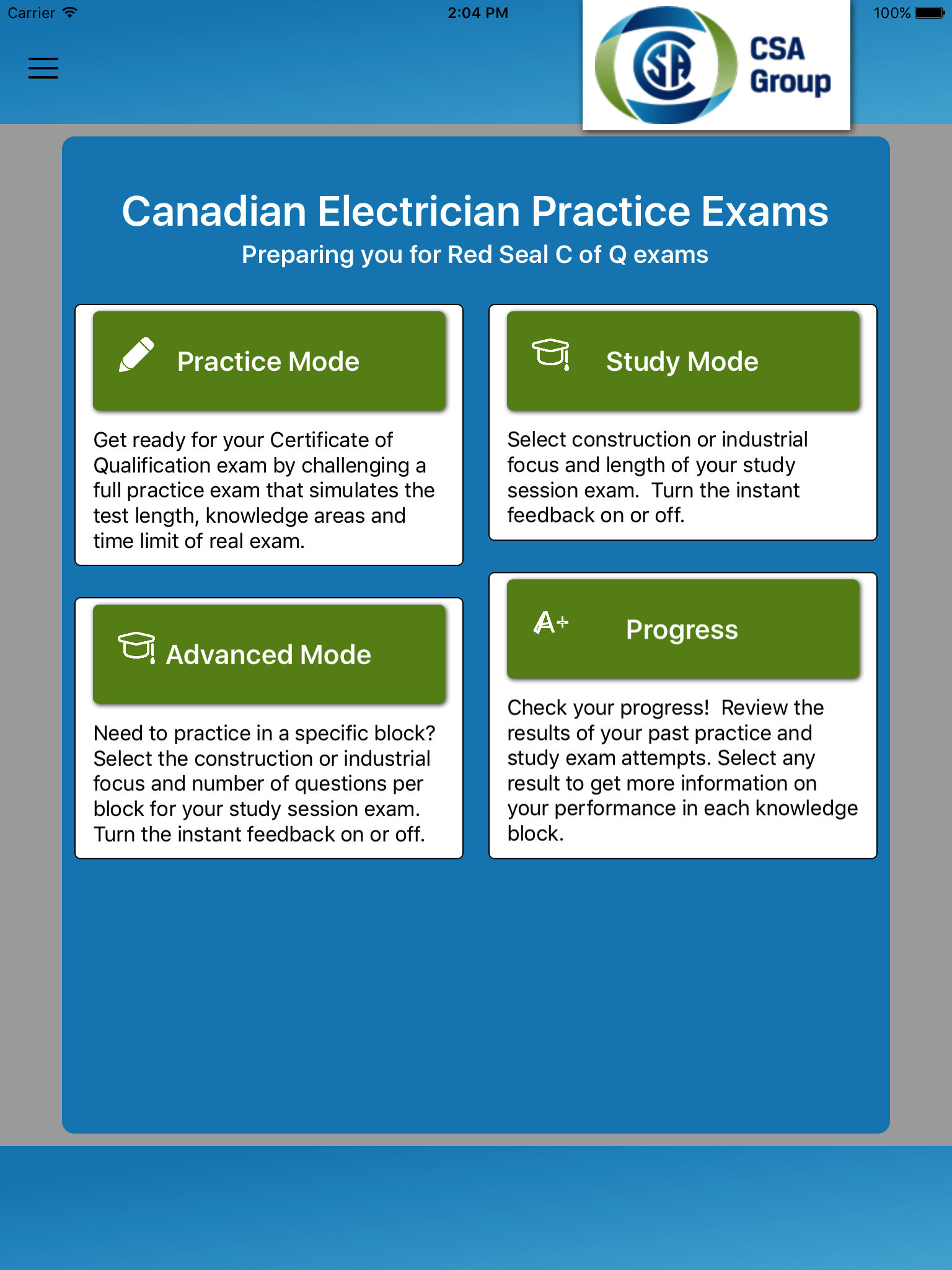 Electrical Practice Exam (CAN) App Ranking and Store Data