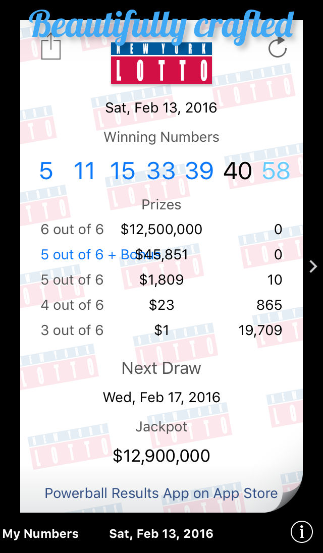 New York Lotto Results App Ranking and Store Data | App Annie