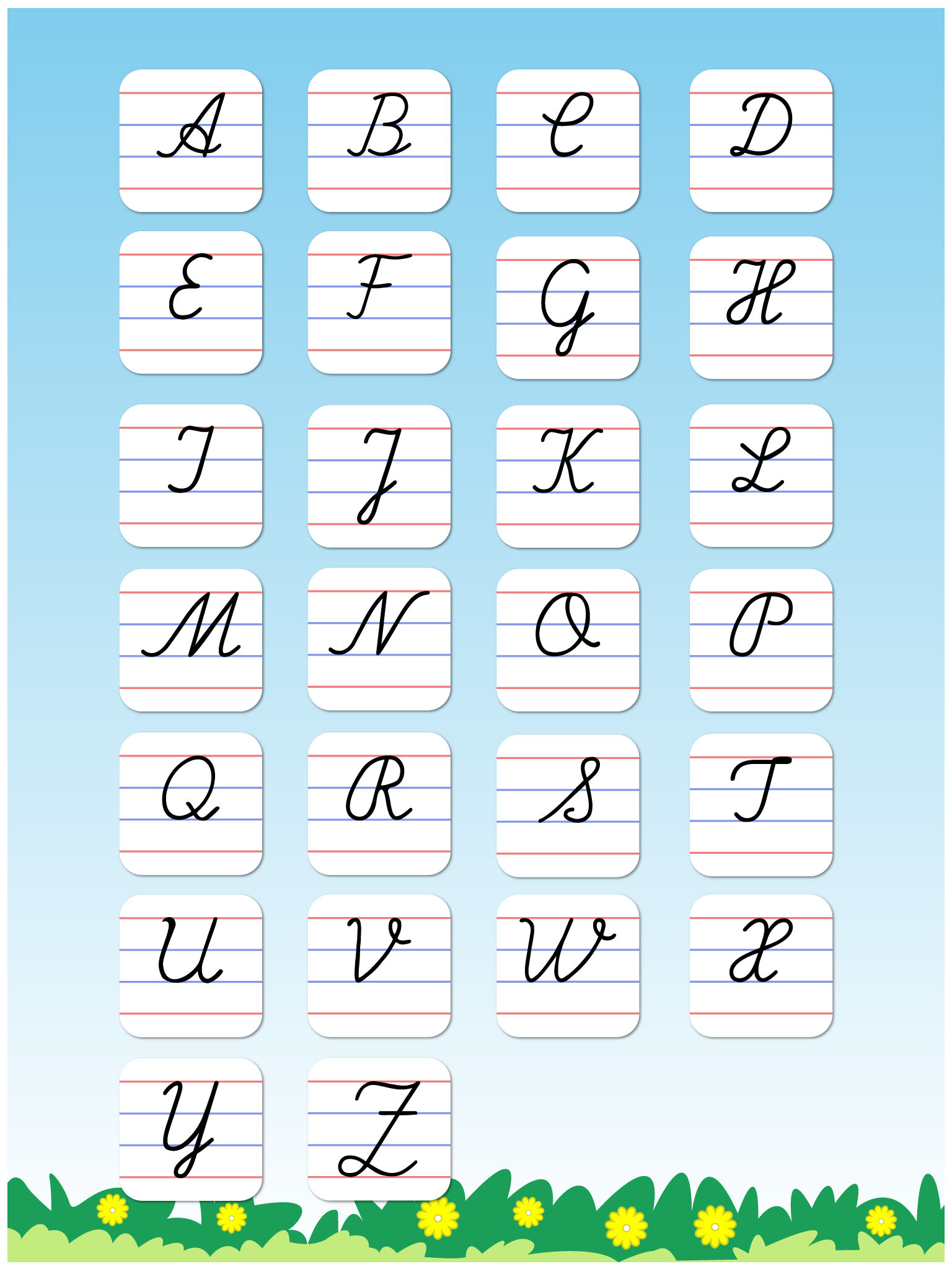 Cursive writing capital letters free kids learn to write uppercase app description tabbydo launches capital letters cursive writing expocarfo Gallery