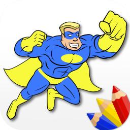 Superheroes Coloring Book For Little Boys And Kids App Ranking And Store Data App Annie