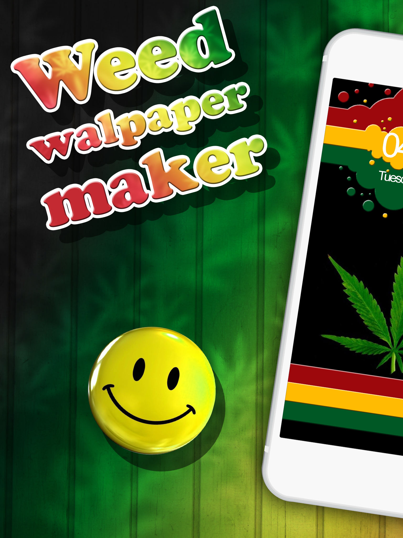 weed wallpaper maker with free backgrounds and ganja lock screen pictures is waiting for you pick any of the weed images and stay forever young
