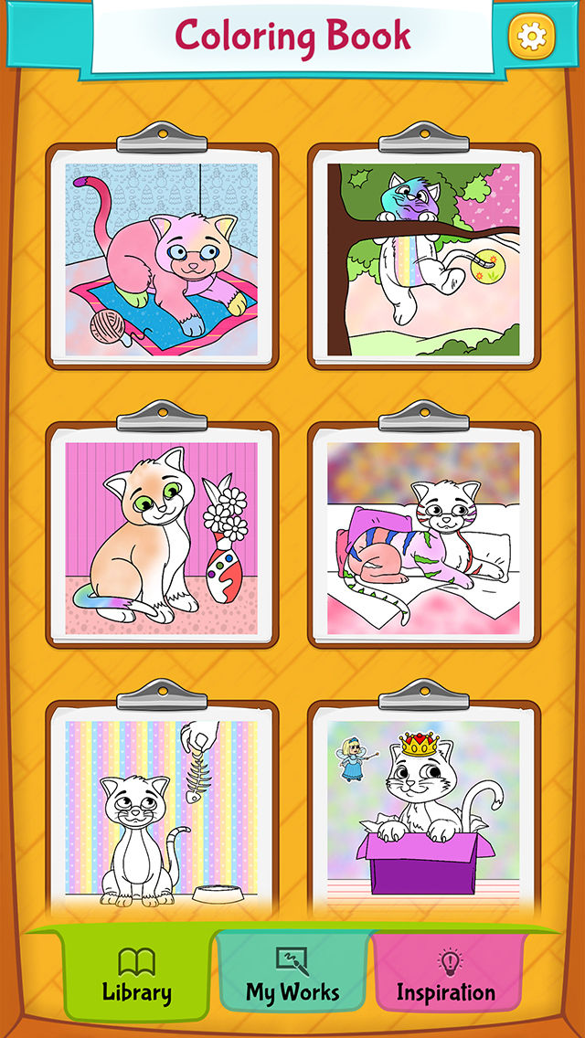 If You Enjoyed Cat Coloring Pages Check Out Our Website For Similar Apps Peaksel