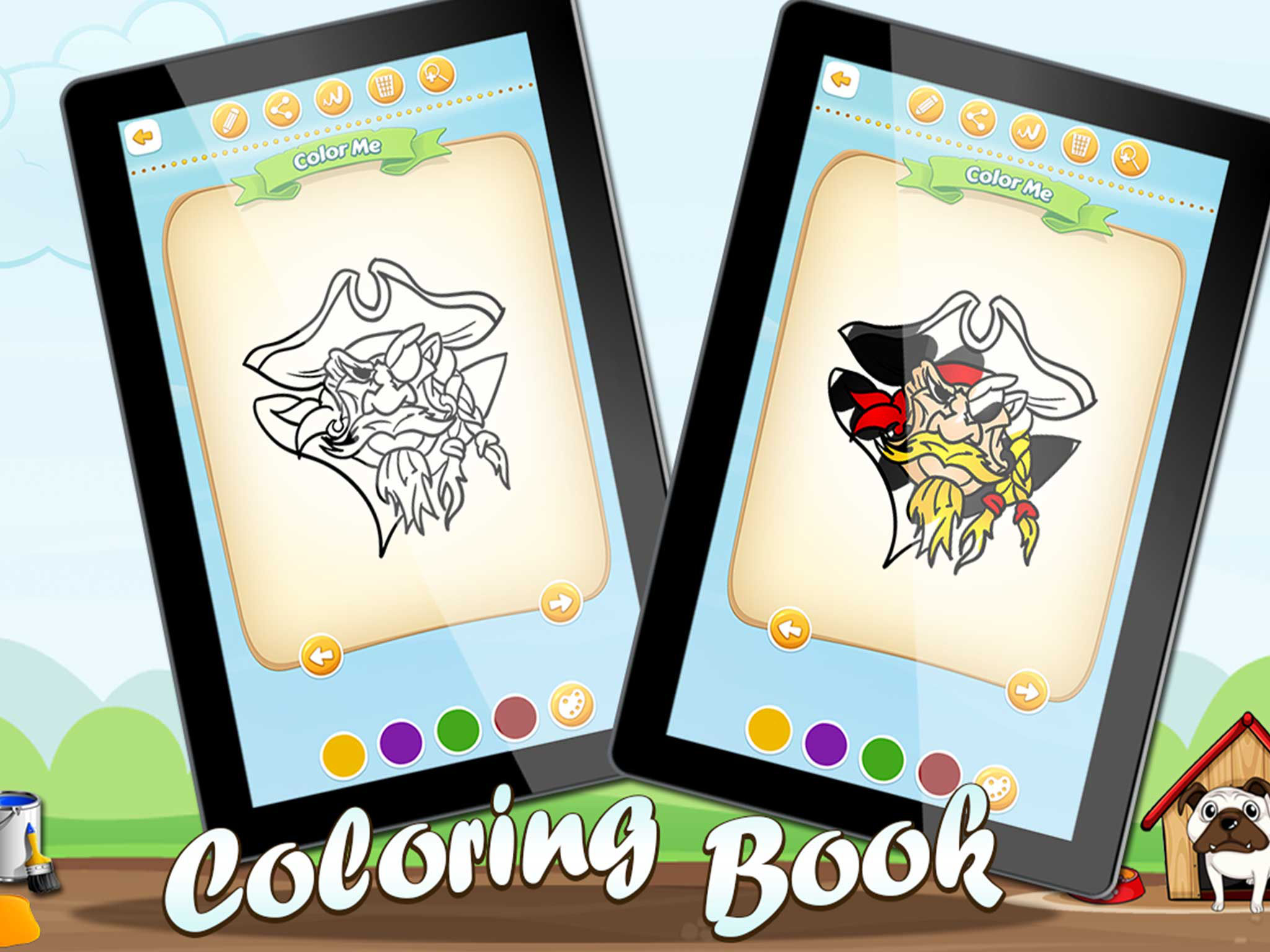 Coloring Kids Art Pirates Full App Ranking And Store Data