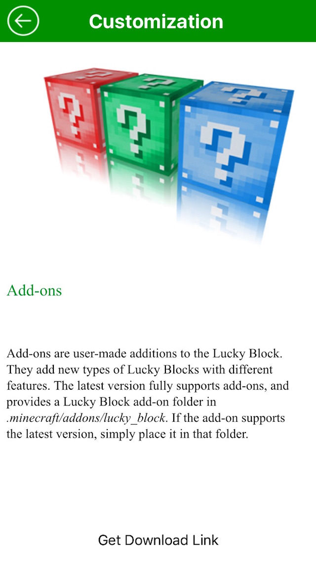 New Lucky Block Mod for Minecraft Game Free App Ranking and