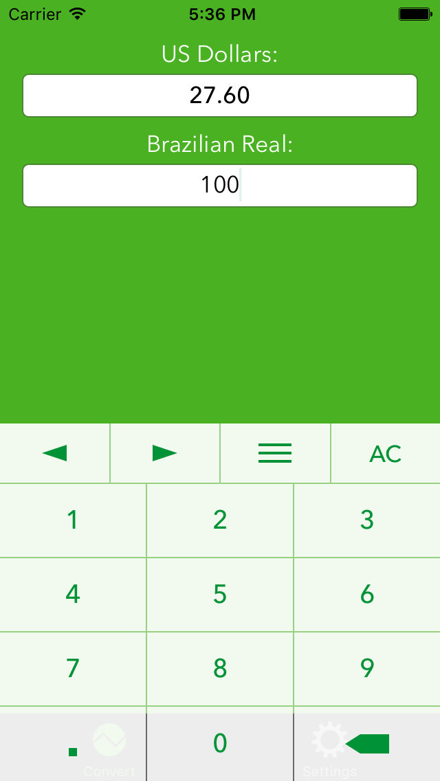 Brazilian Real To Us Dollars Currency Converter Brl To Usd App