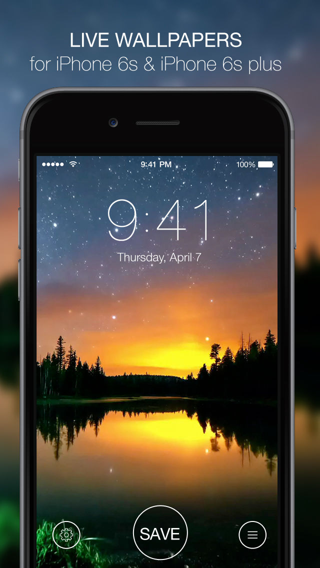 App Description. Amazing live 3D Touch-enabled wallpapers for your iPhone 6s ...