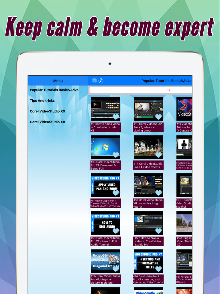 Video Training For Corel VideoStudio Pro App Ranking and