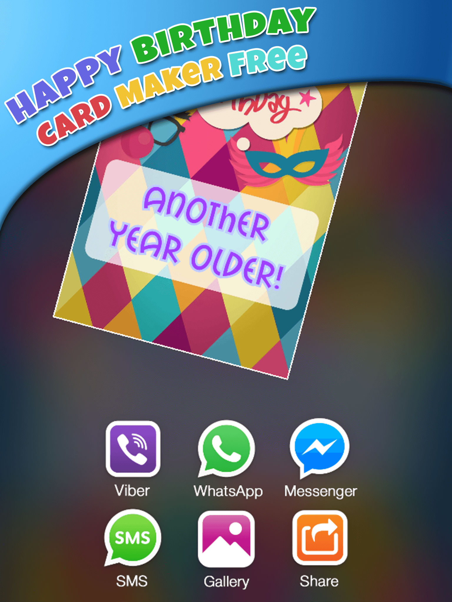 Create Happy Birthday Invitations In Our Photo Booth And Simply Be Original Surprise Everyone With Your Uniqueness Get This Amazing Greeting Card App