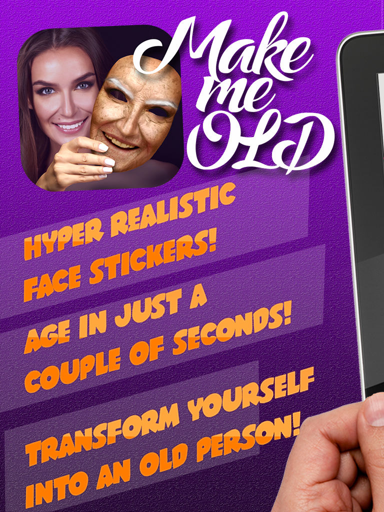 Make Me Old Photo Montage Editor – Face Aging Camera Effects
