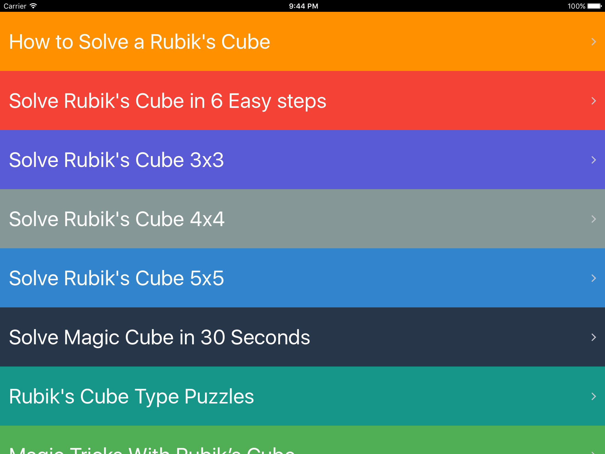 How To Solve A Rubik's Cube App Ranking and Store Data   App