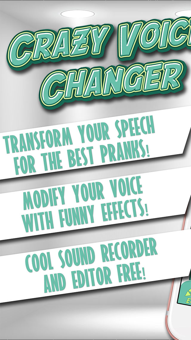Crazy Voice Changer & Recorder – Prank Sound Modifier with